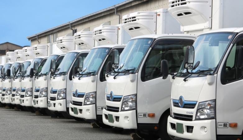 全車両貨物保険加入済